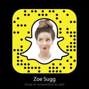 zoe-sugg-snapchat-code