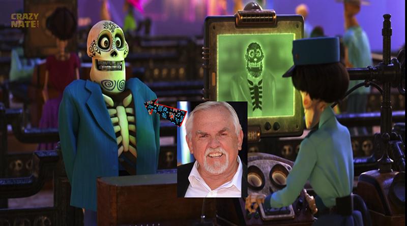 John Ratzenberger Hidden in Pixar's Coco