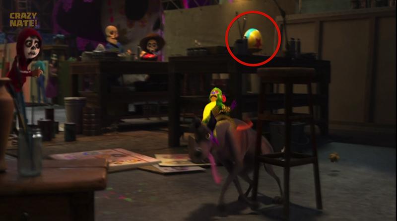 Pixar Ball found hidden in Coco