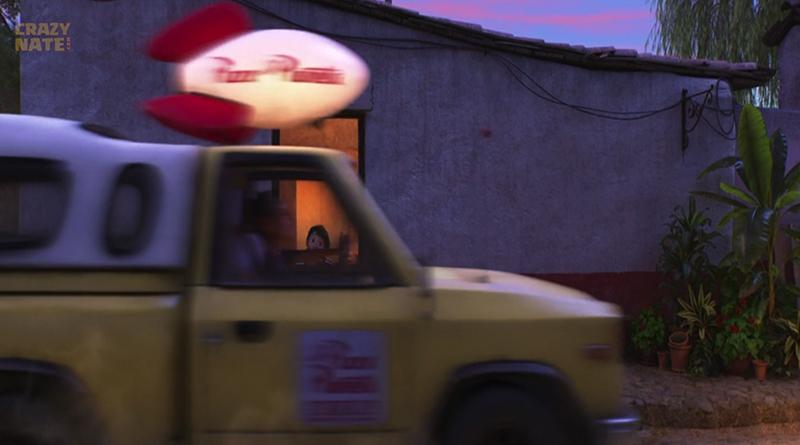 pizza planet truck hidden in coco