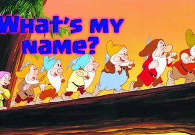 whats my name seven dwarfs