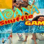 Moana Shuffle Game